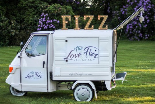 Mobile Prosecco Bar Woldingham